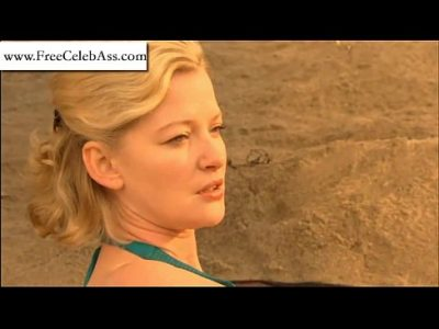 Gretchen Mol hot in bikini from The Memory Keeper