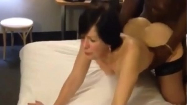 French cheating mom MILF hard anal black cock
